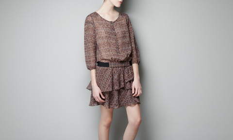 Zara-manga abullonada