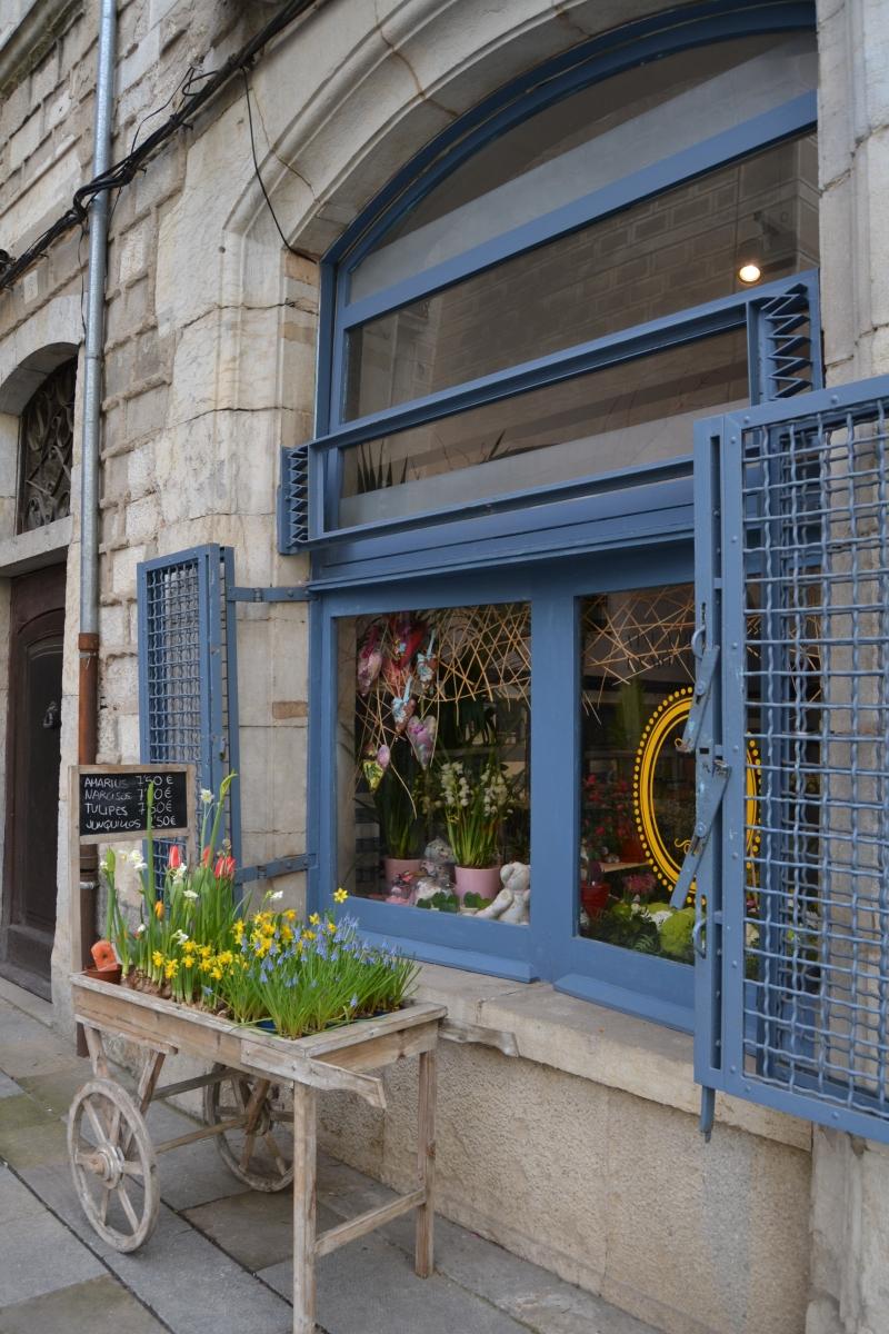 Detalle de una floristería
