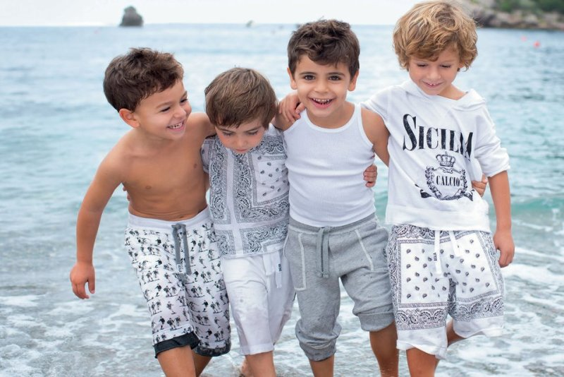 Dolce & Gabbana SS13 Children Collection