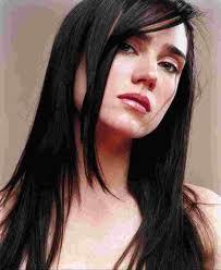 Jennifer Connelly rostro cuadrado