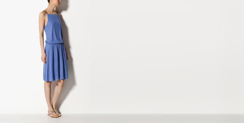 Massimo Dutti vestido cuello halter  39,95 eur