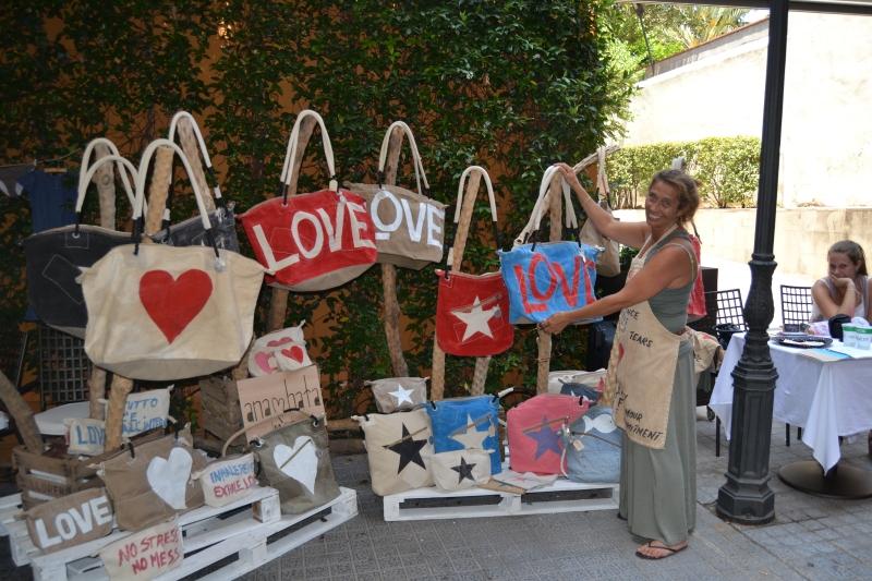 Ana hata en el Summer Market del Hotel Gallery Barcelona