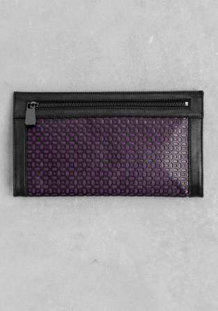 Other & Stories - Clutch perforated Leather