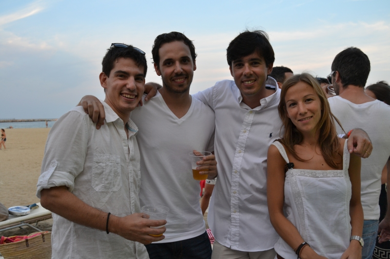 Team BeRepublic : Alex - Victor - Javi y Maria.